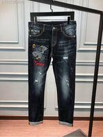 WE08361BH Fashion Men's Jeans 2018 Runway Luxury Brand European Design party style Men's Clothing