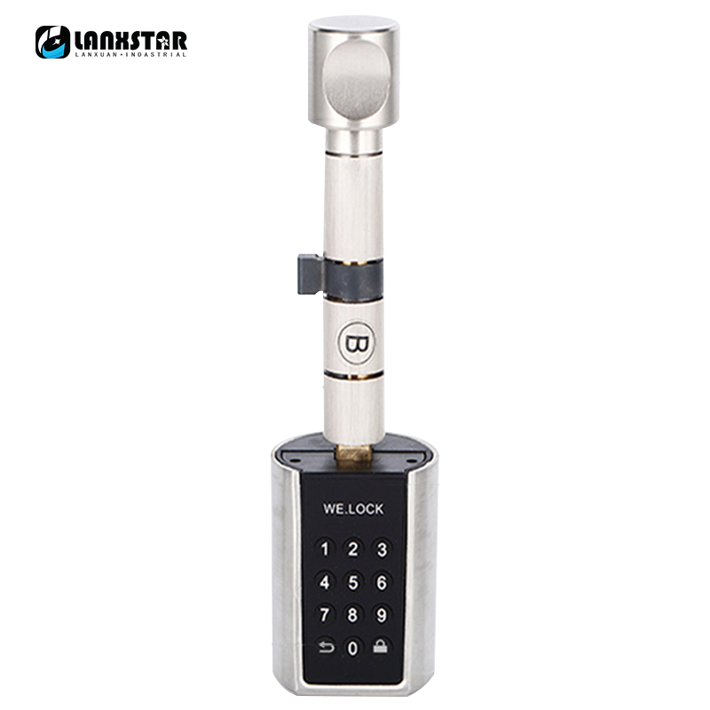 Micro Type Lockcore Intelligent Lock Heart Password Super C-level Cylinder Electronic locks Core Smart Anti-theft Door Lockcores