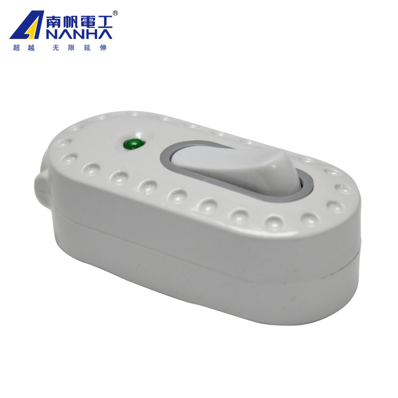 High power wire way switch button a single joint bedside electrical ...