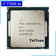 إنتل كور i7 7700K ES i7 7700K ES QKYP 3.7 GHz رباعية النواة ثمانية موضوع معالج وحدة المعالجة المركزية 8 متر 91 واط LGA 1151