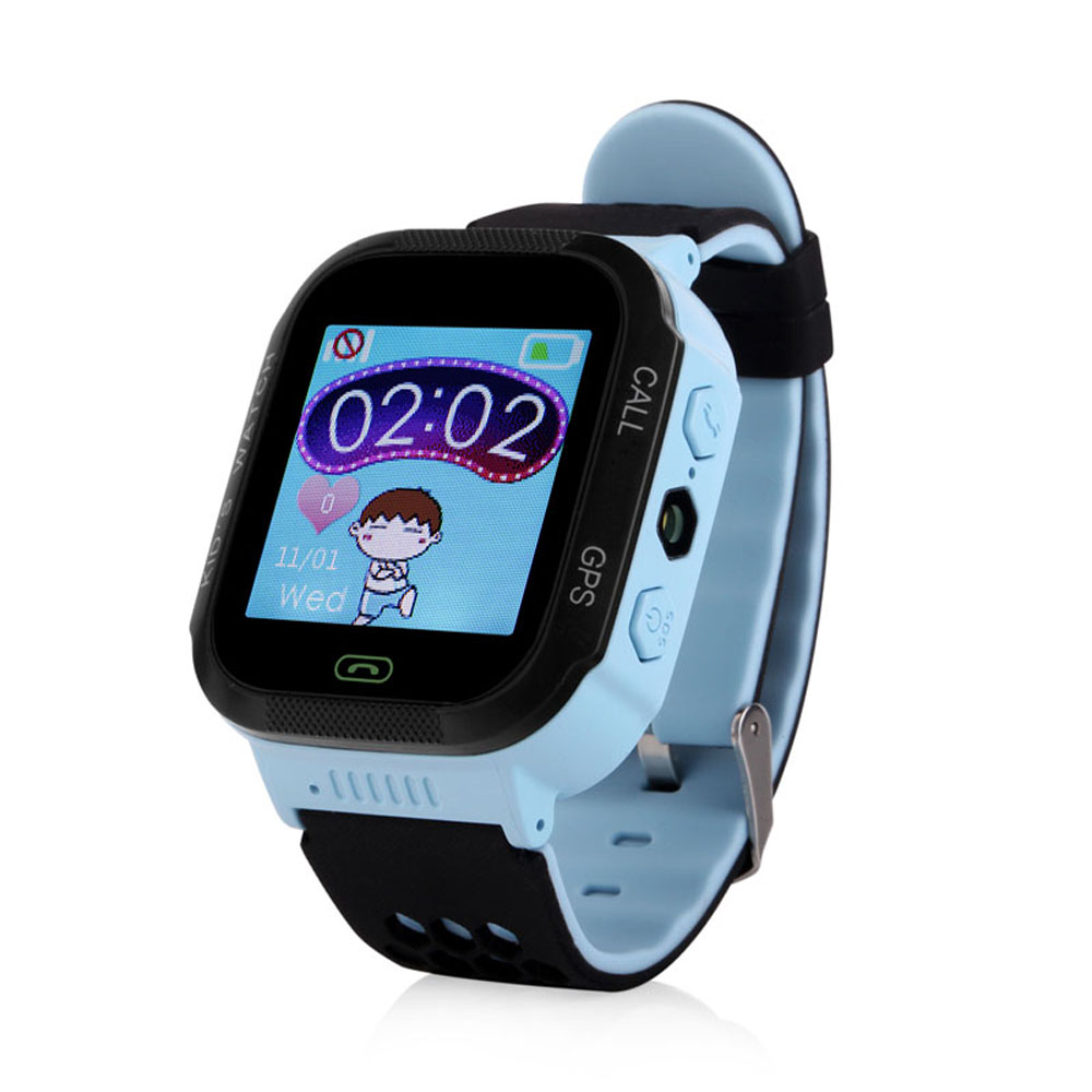 A15S Touch Screen GPS Tracker Baby Smart Watch GW500S With Flashlight for Kids SOS Anti Lost GSM Smart Phone Setracker APP