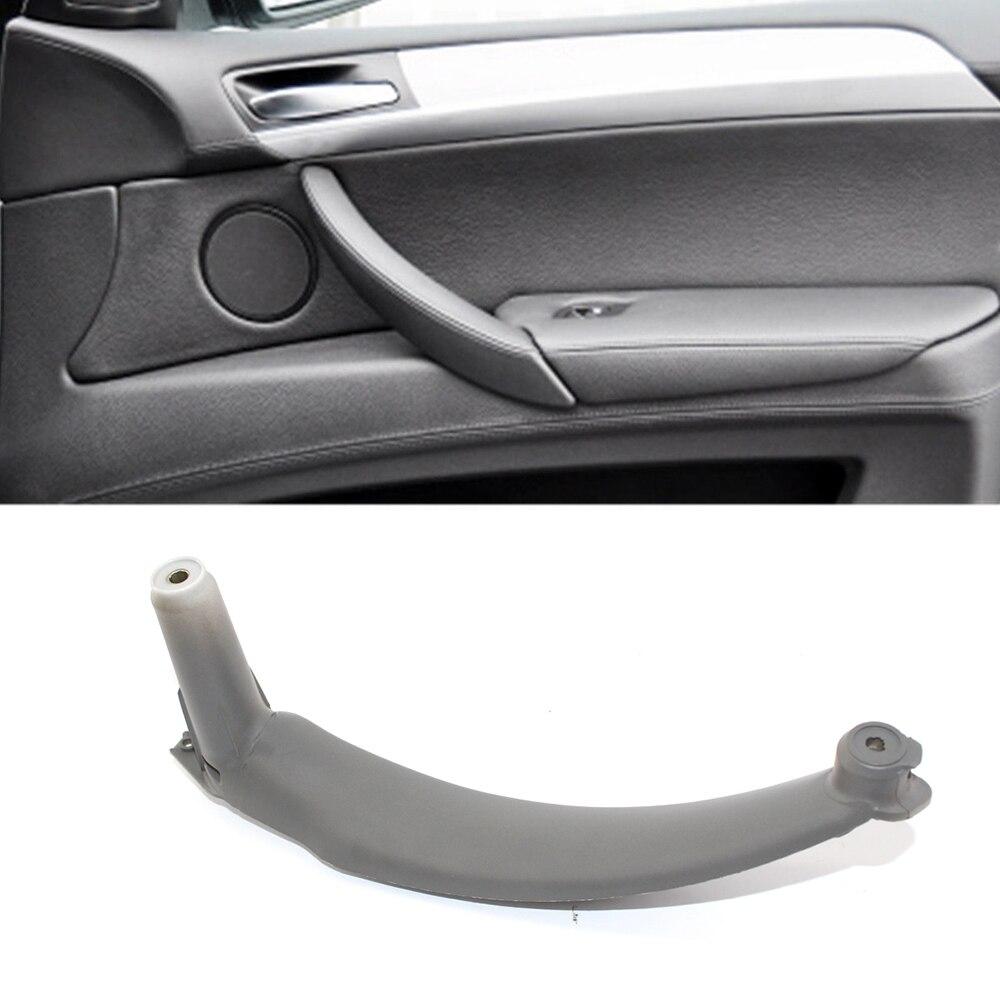 KKmoon Car Interior Door Handles Black Inside Interior Right Inner Door Panel Handle Pull Trim Cover Fit for BMW E70 X5 51416969404