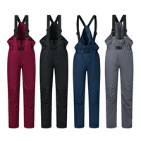 2017 New Outdoor Sports Girls Boy Ski Pants Kids Windproof Waterproof Warm Winter Snow Snowboard Children