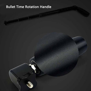 Image 3 - Bullet Time Rotation Handle Selfie Stick Bracket For Insta360 One X / Insta360 One Insta 360 VR Camera Accessories