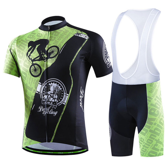 2017 Summer Cycling Jersey Clothing Set Short Sleeved Suits Men s Bicycle  Specialty Abbigliamento Breathable Outdoor 86189d313
