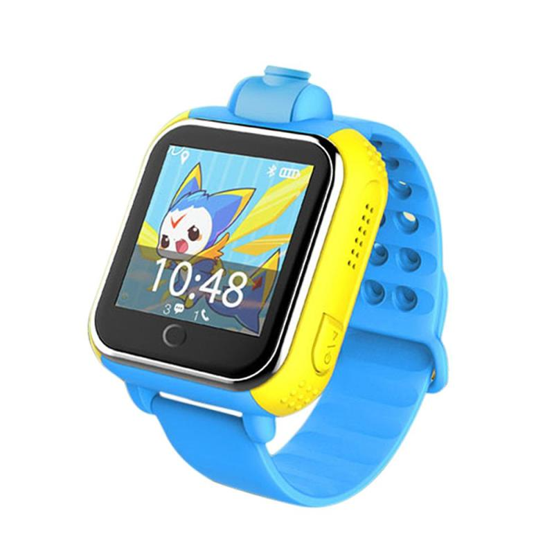 цена JM13 Smart Children Watch Smart Watch Phone HD 720P Camera GPS+LBS+WiFi Three-mode Positioning SOS Anti-lost Android OS 3G(GSM
