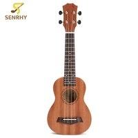 21 Inch 15 Frets Rosewood Soprano Ukulele Guitar Uke Sapele Rosewood 4 Strings Guitar For Beginners