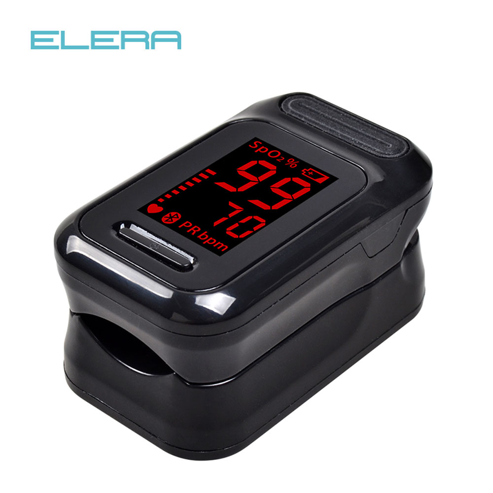 ELERA LED Finger Pulse Oximeter Blood Oxygen Saturation meter Fingertip Pulsoximeter SPO2 Monitor Oximetro dedo Oximeter hot sale mini spo2 fingertip pulse instant read digital oximeter blood oxygen sensor saturation monitor meter