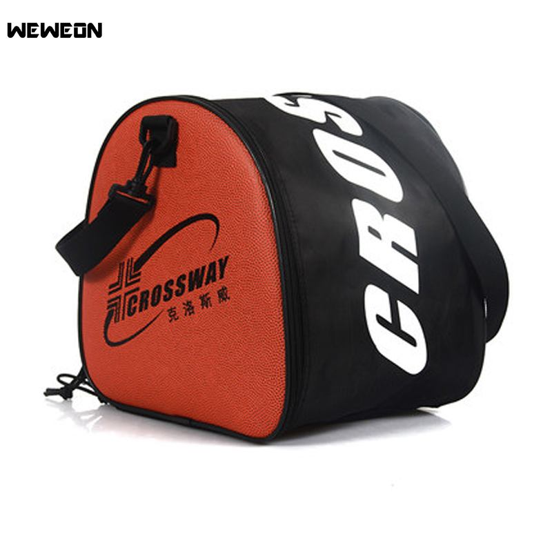 Basketball Bag Sports Bag Training Bag Shoulder PU Leather Waterproof and durable bag