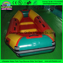 Hot cake selling inflatable products cheap cost inflatable PVC boat made by Guangzhou trader
