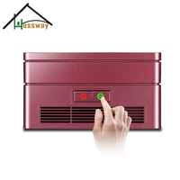 Vehicle mounted Home 12v Activated carbon air filter ion air purifier ionizer with Germicidal UV Lamp