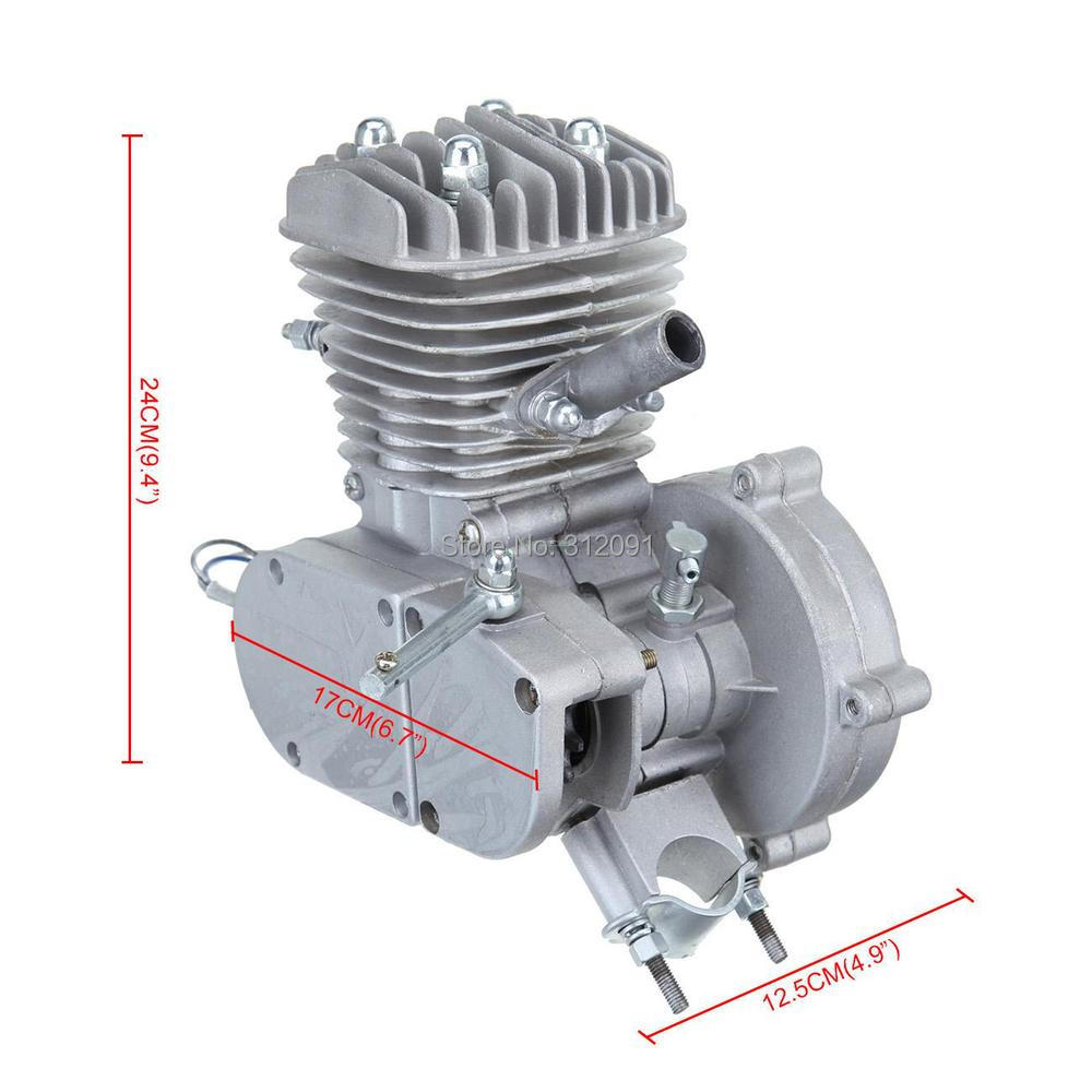 (Ship from US) 80cc 2-stroke Gasoline Engine for 2628 Motor Motorcycle Motorized Bicycle DIY Bike Cruisers boat motor t40 05090200 cdi unit for parsun hdx 2 stroke 40cv t40 t40bm t40bw t40g t30bm engine 2 stroke c d i assy g type