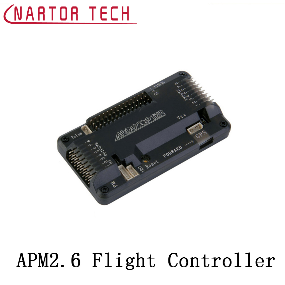Nartor APM2.6 ArduPilot Mega APM 2.6 Flight Controller Board Compass w/ Protective Case for quadcopter drone f14586 b apm 2 8 apm2 8 rc multicopter flight controller board compass
