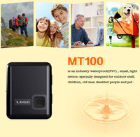 No Retail Box Waterproof IP67 MT100 Gps Tracker For Personal Real Time Mobile Phone Tracking Device