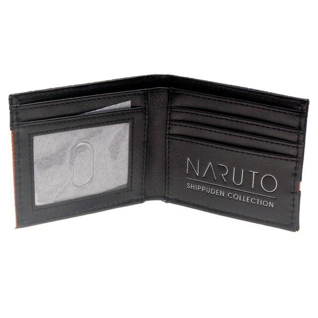 Аниме кошелек Наруто черный 3
