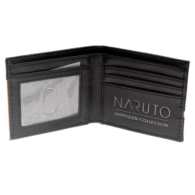 Naruto Black Bi-Fold Wallet