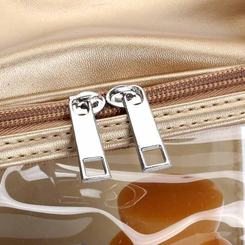 Multi-purpose Storage Bag Travel Transparent Cases Box Luggage Towel Suitcase Pouch Zip Bra Cosmetics Underwear Organizer