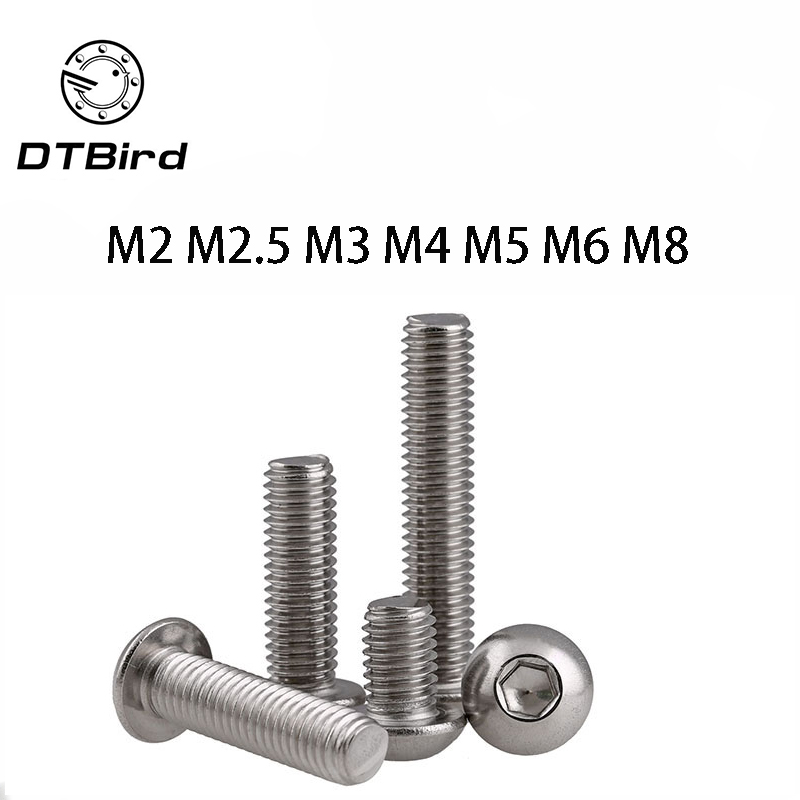 Stainless Steel A2 DIN 6921 40 PCS M6-1.0 x 10mm Flanged Hex Head Bolts Flange Hexagon Screws