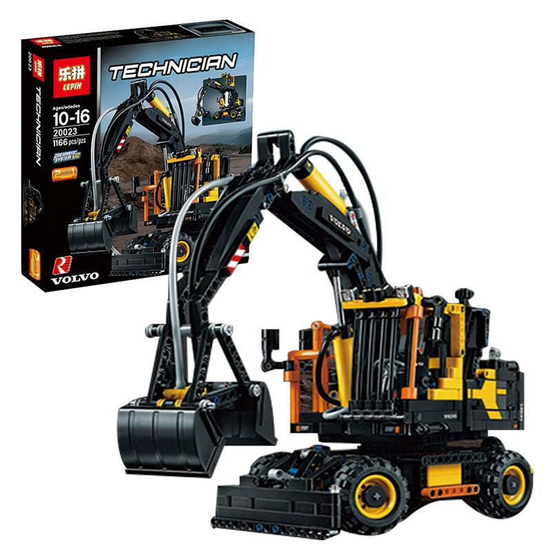 Здесь продается  Lepin 20023 1166Pcs Technical Ultimate Series The Ew160e excavator set Educational Building Blocks Bricks Toys Funny Model 42053  Игрушки и Хобби