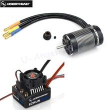 Щеточный электронный регулятор скорости Hobbywing EZRUN MAX10 60A Водонепроницаемый бесщеточный ESC+ 3652 G2 KV5400/4000/3300 двигатель для 1/10 RC автомобиль