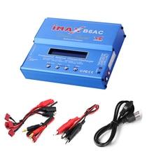 Bateria de Lítio Descarregador com Tela Imax B6ac RC Carregador Equilíbrio 80 W Carro Nimh Nicd de Lcd Digital