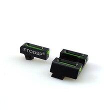 FTODSP الألياف البصرية الأمامية و الخلفية مسدس مشاهد ل غلوك نماذج مسدسات القياسية