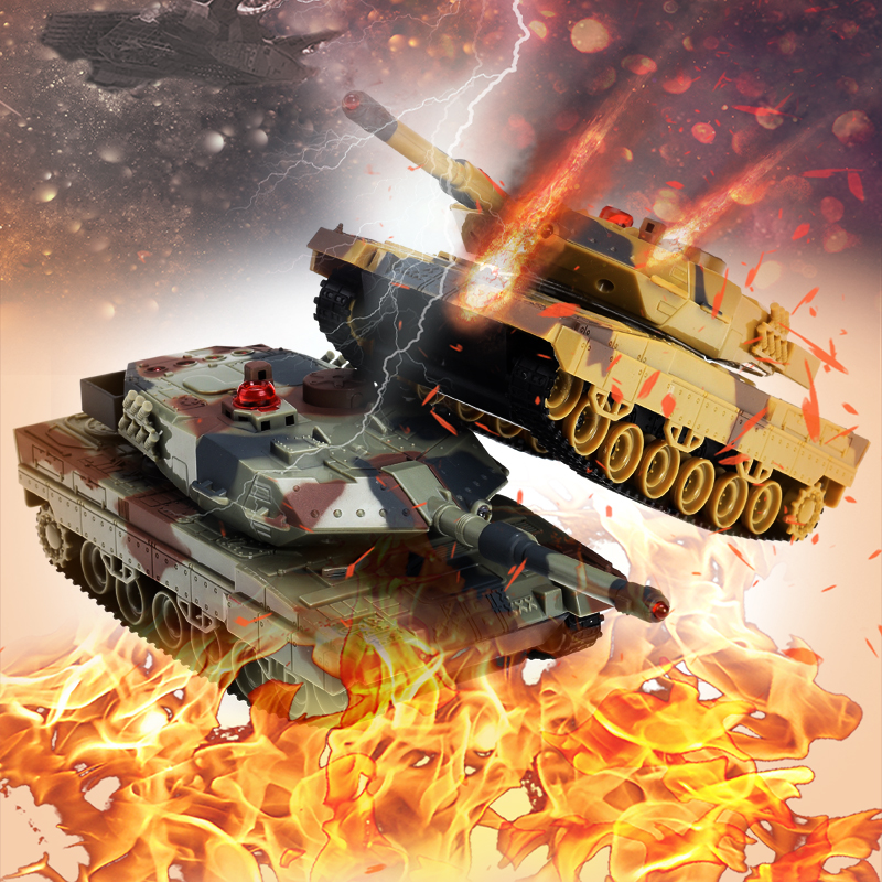 Panzer RC Tank G Sensor Control Military Infrared Tank Remote Control Battle Tank toys with Green