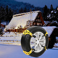 Universal TPU Car Winter Anti-Slip Chain Outdoor Vehicle Wheel Emergency Anti-skid Chain For Snow Mud Road