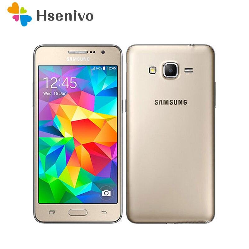 Téléphone portable débloqué d'origine Samsung Galaxy Grand Prime G530 G530H Ouad Core double Sim 5.0 pouces écran tactile