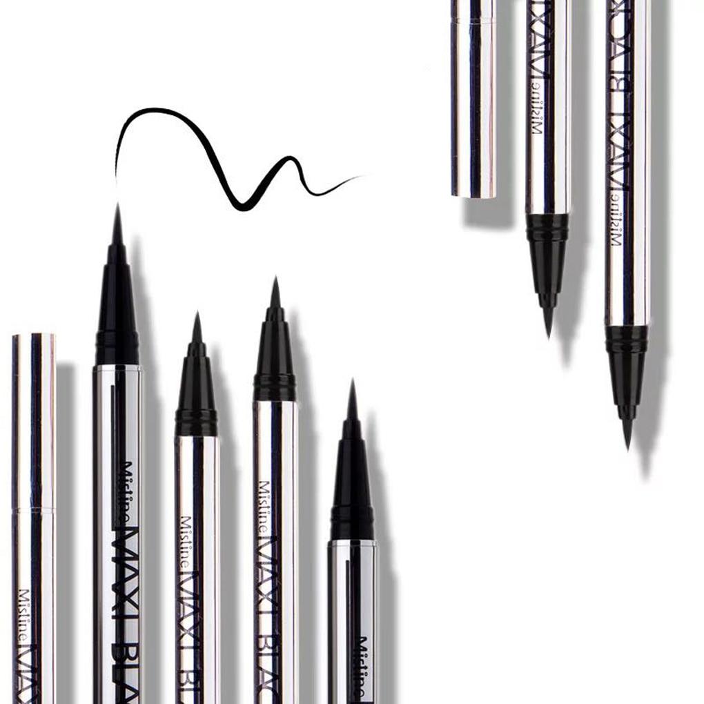 1 Pcs Ladies Black Liquid Eyeliner Long-lasting Waterproof Eye Liner Pencil