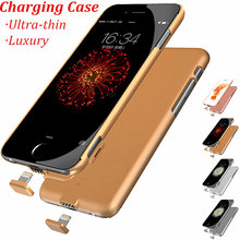 Ultrathin External Battery case for iPhone6 case 6s Backup Charger Cover for iPhone6 Plus case 6s