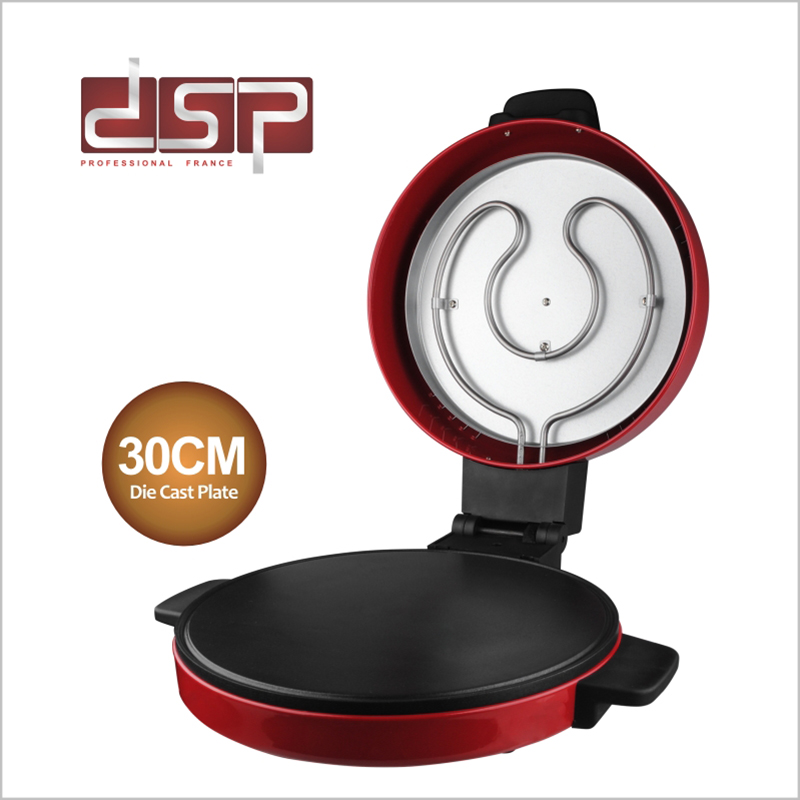 DSP Electric Pizza Machine Pancake Machine baking pan Cake machine Crepe Maker Griddle kitchen cooking tool KC1069 jiqi electric baking pan double side heating household cake machine flapjack pizza barbecue frying grilling plate large1200w