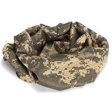 Шарф Cheche шейный Чехол камуфляж тактический военный армейский полицейский движения ACU камуфляж