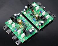 One Pair Assembled HM3S High Bias Class AB Amplifier Base GOLDMUND GM29 120W 2