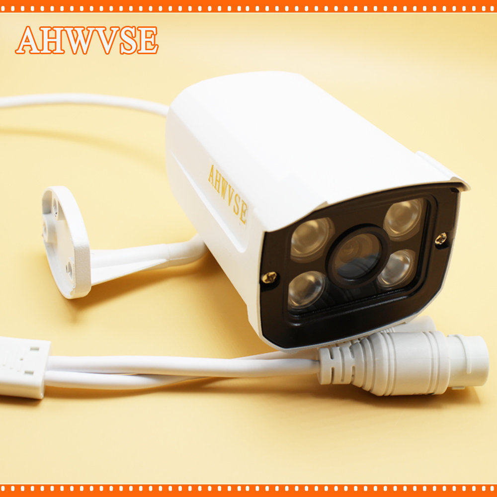 AHWVSE HD 1920*1080P 2MP Surveillance Cam 4ARRAY IR Bullet Network IP Camera Outdoor 960P 720P Optional