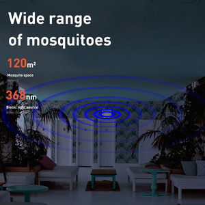 Image 4 - BASEUS UV USB Light Mosquito Killer Electric Mosquito Killer Lamp Photocatalysis Mute Home LED Zapper Insect Trap Radiationless