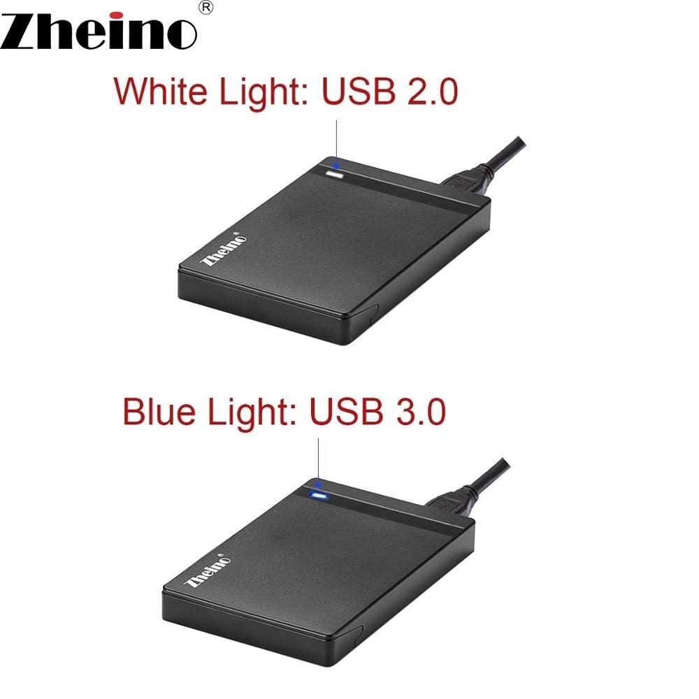 Zheino USB Externe SSD 120 GB/240 GB/360 GB/480 GB/128 GB/256 /512 GB Tragbare SSD SATA3 Solid State Festplatte Mit 2,5 ''hdd fall