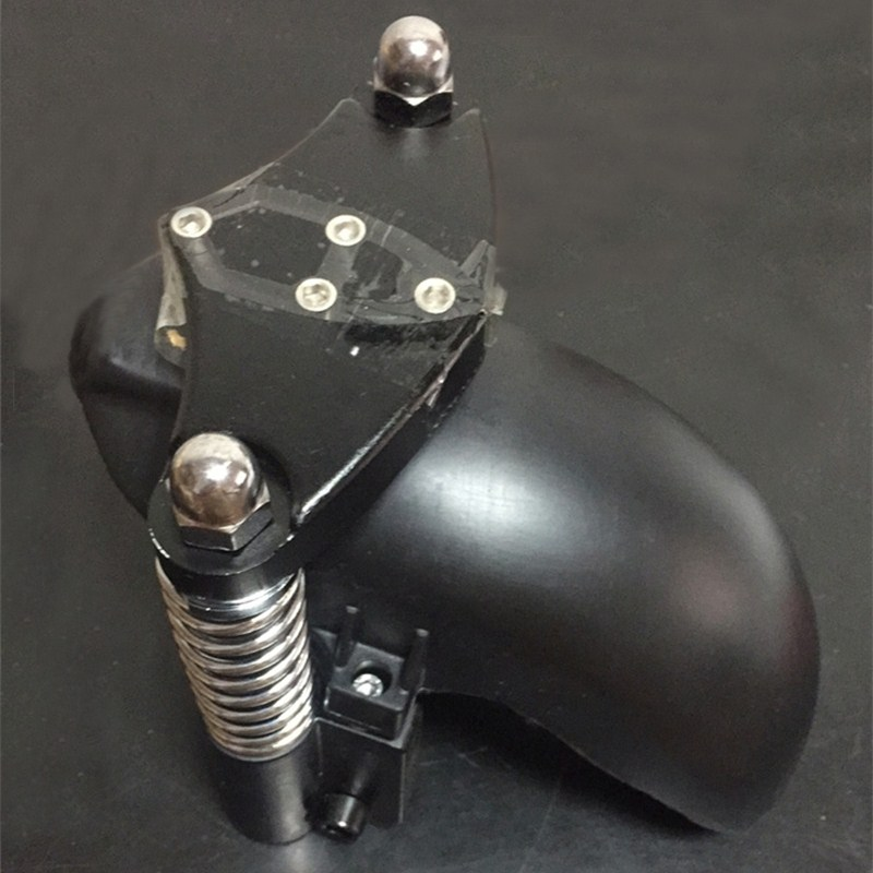 A Set of Axis Spring Shock Absorber and mudguard for 10 inch Electric font b Scooters
