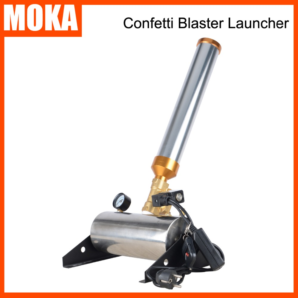 Stage Effect Confetti Cannon Machine Wedding Equipment Confetti Launcher Confetti Blower Machine все цены