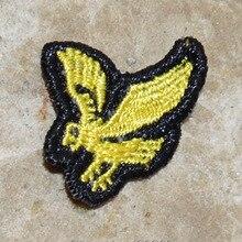 Лидер продаж!~ Охотничий Орел Золотая дикая птица муха Железная на патчи, пришить на патчи, Аппликации, сделано из ткани, гарантированное качество
