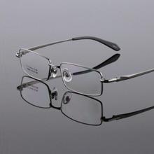 high-grade pure titanium super light business full rim eyeglass frames men myopia male spectacle goggles eyewear oculos