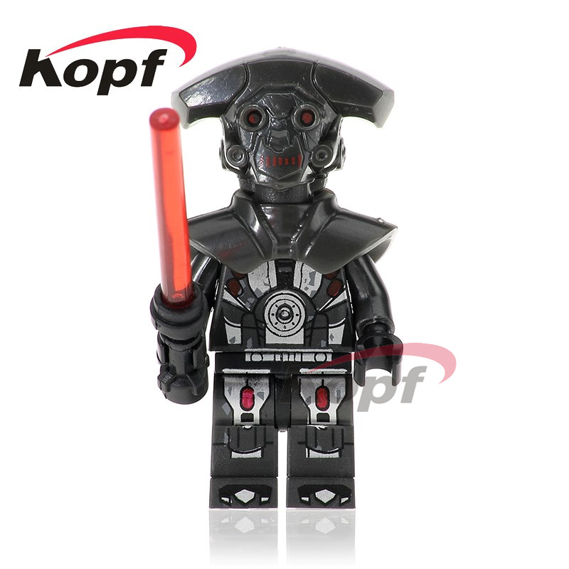 Single Sale Space Hunter Droid Imperial Inquisitor The First Order Officer 75185 Building Blocks Dolls Toys For Children PG727