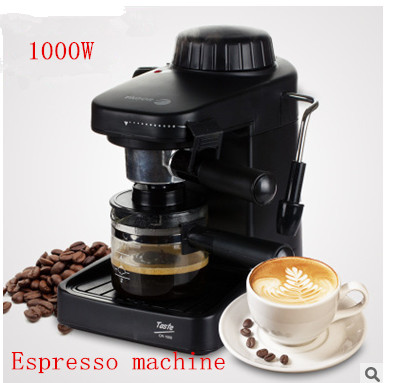 Portable Drip Coffee Maker : Automatic espresso Faema Black coffee machine portable drip coffee maker cappuccino with milk ...