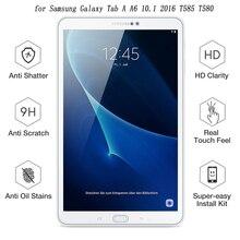 9H 2.5D Премиум Закаленное стекло для SM-T580 протектор экрана для samsung Galaxy Tab A A6 10,1 T585 Защитная стеклянная пленка