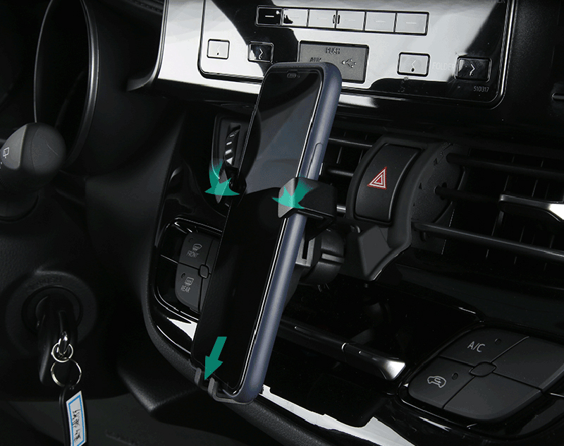 Держатель на вентиляционное отверстие автомобиля держатель телефона для мобильного телефона стабильная Колыбель смартфон подставка для Toyota C-HR CHR 2016 2017 2018 2019