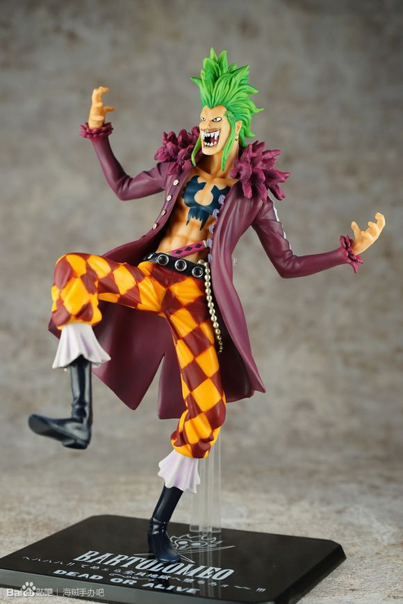 "8 "" One Piece Bartolomeo Doll PVC Bartolomeo One Piece Action Figures Collectible Model Toys 1"