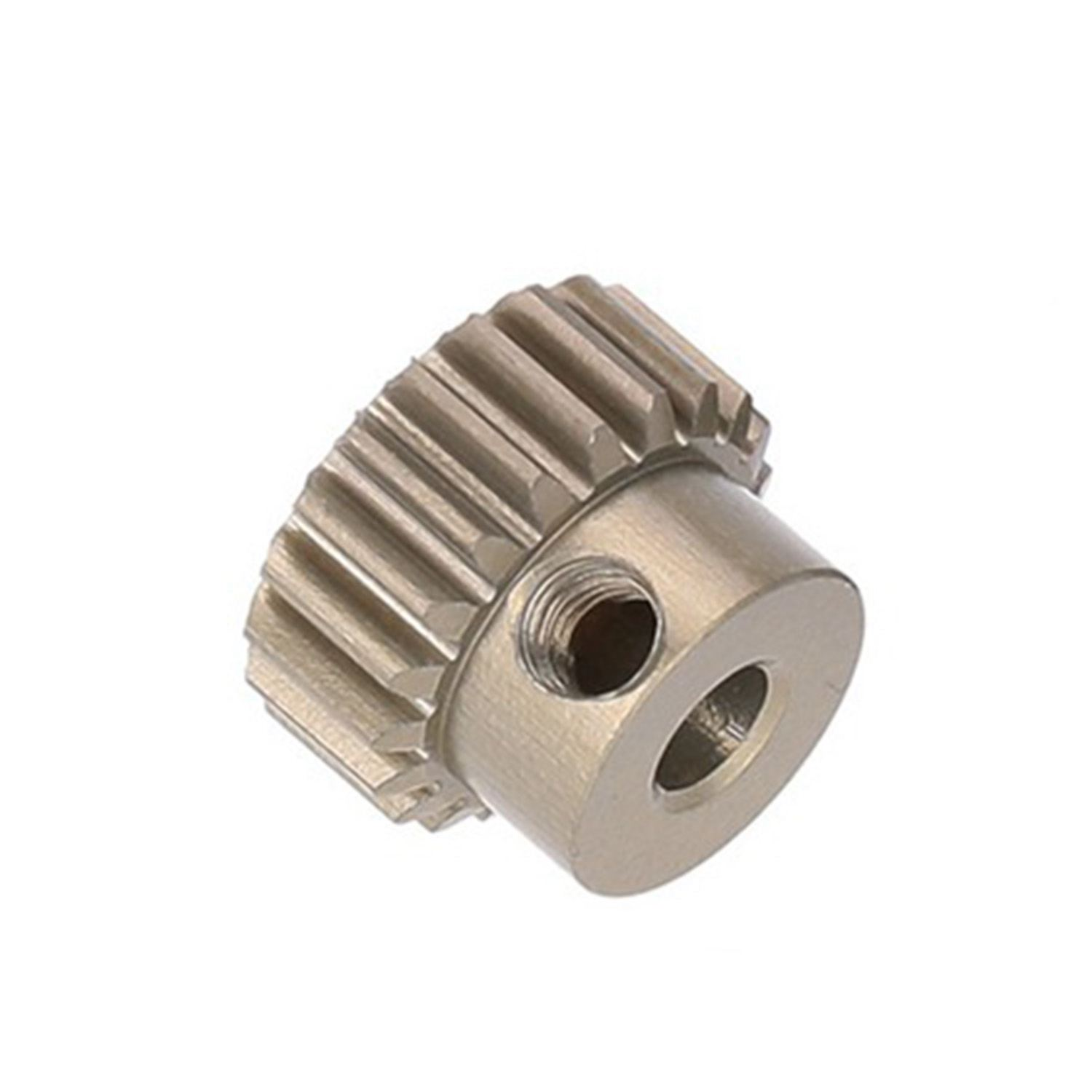 Metal 48DP Rust-proof Gear 3.175mm Motor Pinion Gear 20T 21T 28T 32T 35T 36T 38T For RC Car Brushed Brushless Motor