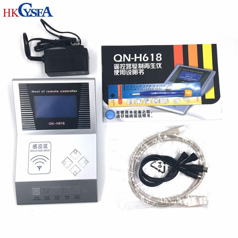 HKCYSEA беспроводной RF пульт дистанционного управления цифровой счетчик дистанционного копир/Мастер-H618,ключевой программист,тестер частоты