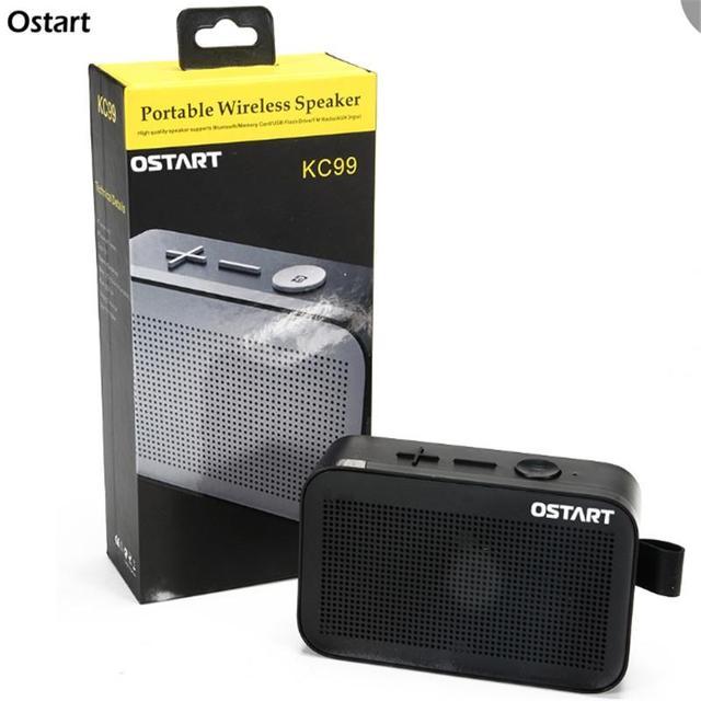 Ostart KC99 Bluetooh Portable Wireless Speaker Outdoor Enceinte Bluetooth Color Audio Fm Radio Subwoofer Soundbar Usb