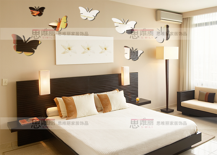 Aliexpress.com : Buy Acrylic Sofa Background Wall Mirror